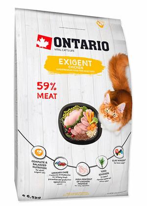 ONTARIO корм для особо требовательных кошек с курицей (Ontario Cat Exigent) 2 кг