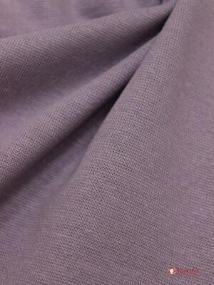 Трикотаж Рибана цв.Серо-лиловый, ш.1,92м(0,96м*2 чулок), Карде, хлопок-95%,лайкра-5%, 220 гр/м.кв