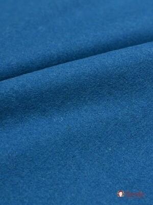 Сукно цв.Лазурно-синий, СОРТ 2, ш.1.5 м, шерсть-83%, ПА-17%, 281 гр/м.кв