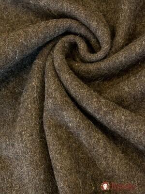 Сукно шинельное цв.коричневый, ш.1.42м, шерсть-90%, п/э-10%, 500гр/м.кв