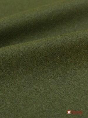 Сукно цв.Темный хаки 2, ш.1.5 м, шерсть-83%, ПА-17%, 281 гр/м.кв