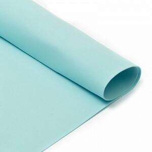 Фоамиран в листах 1 мм 50/50 см уп 10 шт MG.A019 цвет голубой