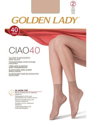 НОСКИ CIAO 40 ( 2 П.) Golden Lady