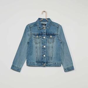 Джинсовая куртка - голубой