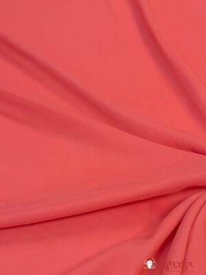 БРАК (цена снижена) Штапель цв.Розово-коралловый, шир.1.45м, вискоза-100%, 110гр/м.кв