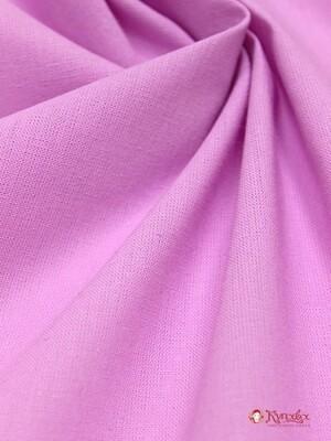 Бязь цв.Розово-сиреневый, ГОСТ, ш.1.5 м, хлопок-100%, 142гр/м.кв