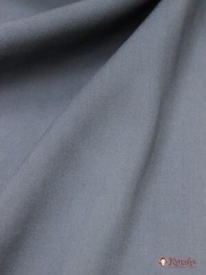Штапель цв.Темно-серый, ш.1.45м, вискоза-100%, 110гр/м.кв