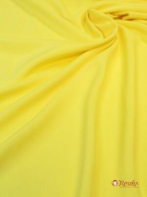 БРАК (цена снижена) Штапель цв.Солнечно-желтый, шир.1.45м, вискоза-100%, 110гр/м.кв