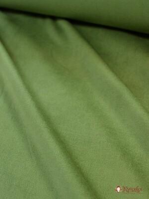 Бархат цв.Зеленая трава, шир.1.45 м, хлопок-90%, лайкра-5%, п/э-5%,280 гр/м.кв