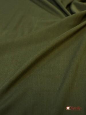 Штапель цв.Темно-серый хаки, ш.1.45м, вискоза-100%, 110гр/м.кв