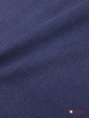 Микровельвет цв.Темно-синий, ВИД2, шир.1.45м, хлопок-100%, 220гр/м.кв