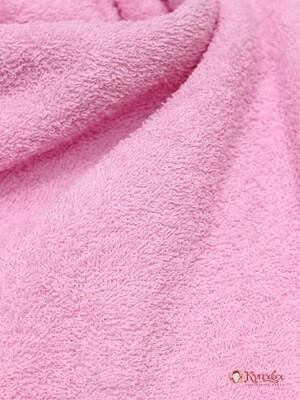 Махровая ткань цв.Бледно-розовый, шир.1.5м, хлопок-100%, 350 гр/м.кв