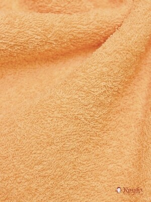 Махровая ткань цв.Абрикос, шир.1.5м, хлопок-100%, 350 гр/м.кв
