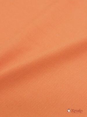 Микровельвет цв.Яркий апельсин, шир.1.45м, хлопок-100%, 220гр/м.кв