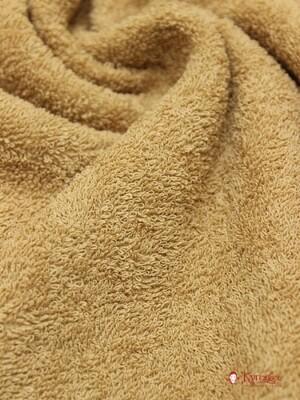Махровая ткань цв.Молочный шоколад, шир.1.5м, хлопок-100%, 350гр/м.кв