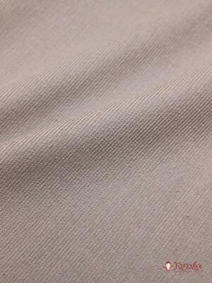 БРАК (цена снижена) Микровельвет цв.Кофейно-серый, шир.1.45м, хлопок-100%, 220 гр/м.кв