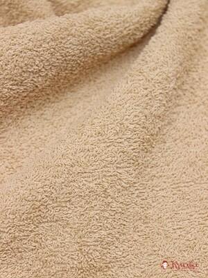 Махровая ткань цв.Бежево-песочный, шир.1.5 м, хлопок-100%, 350гр/м.кв