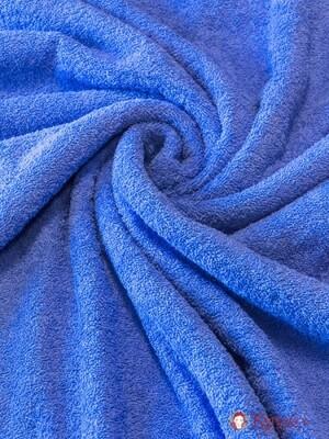Махровая ткань цв.Голубой с сиреневой дымкой, шир.1.5м, хлопок-100%, 350гр/м.кв