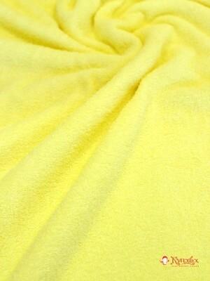Махровая ткань цв.Бледно-желтый, шир.1.5м, хлопок-100%, 350 гр/м.кв