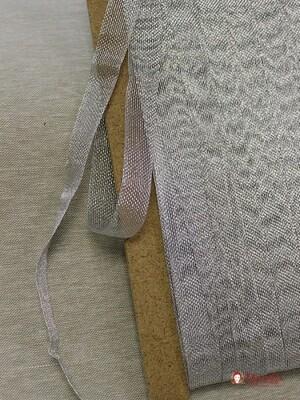 Лента металлизированная цв.серебро, 20мм