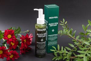 Medi Peel Algo tox Deep clear, 150мл Гель для глубокого очищения кожи с эффектом детокса. Обычная цена 745р