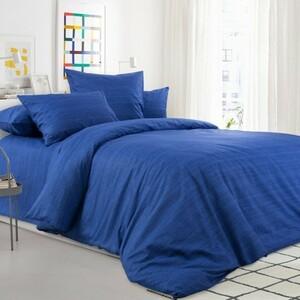 Ткань на отрез бязь 120 гр/м2 220 см 2049315 Эко 15 цвет синий