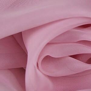 Ткань на отрез Вуаль 280 см 37 цвет темно-розовый