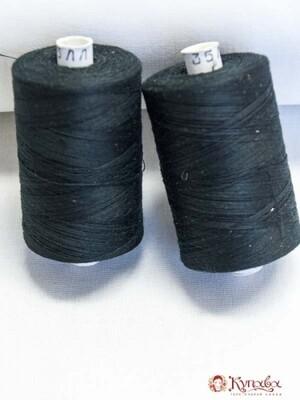 Нитки 2500 м,35ЛЛ, №6818, цв.черный