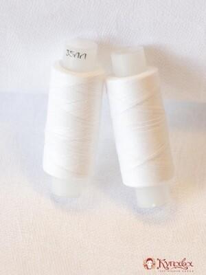 Нитки 35ЛЛ, №0101, цв. белый