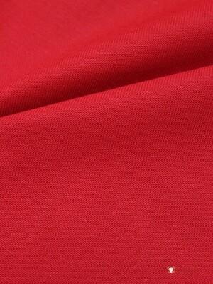 Саржа с пропиткой цв.Красный, ш.1.5м, хлопок-100%, 180гр/м.кв
