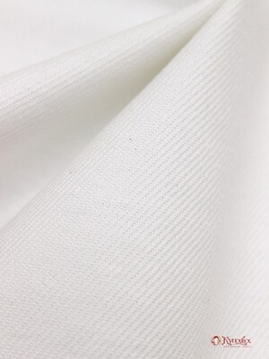 Бумазея цв.белый, ш.0.8м, хлопок-100%, 230гр/м.кв