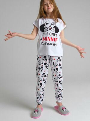 Пижама трикотажная для девочек