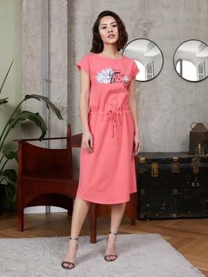 Платье жен Mia Cara SS21WJ376 Izumi коралловый