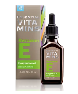 Натуральный витамин Е - Essential Vitamins