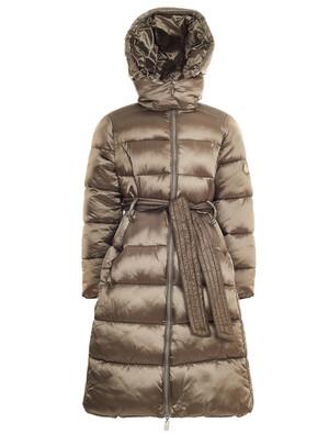 I20872-BRONZO-19з Пальто для девочки с поясом