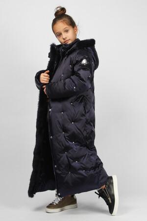 I20878-BLU PERL-19з Пальто зимнее для девочки