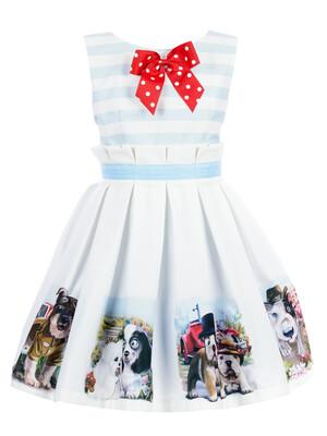 Платье ПЛ-13207-78 Собачки