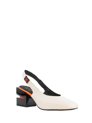 211089-1-1311 туфли  жен. летн. натуральная кожа/натуральная кожа/термопластичная резина молочный Milana