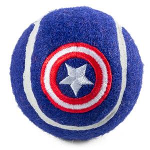 Игрушка д/собак Капитан Америка^Мяч тенисный^  70мм Triol-Marvel