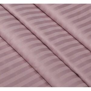 Маломеры страйп сатин полоса 1х1 см 220 см 120 гр/м2 цвет 730/2 роза 30 м
