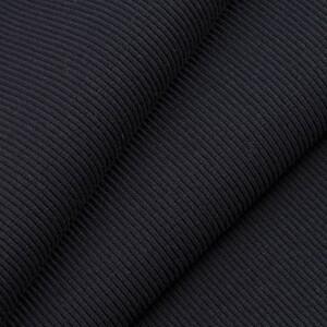 Ткань на отрез кашкорсе с лайкрой 1406-1 цвет черный