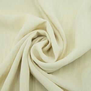 Ткань на отрез манго 154 см цвет экрю