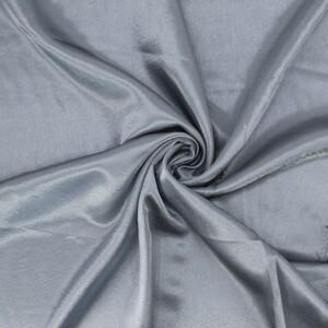 Ткань на отрез креп-сатин 1960 цвет серый