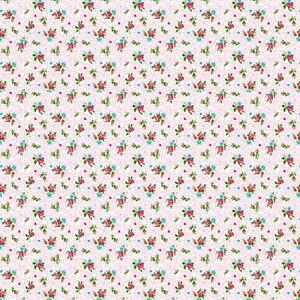 Ткань на отрез ситец 95 см 18509/2 Цветы