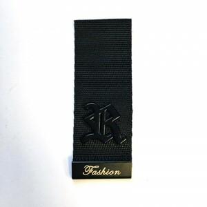 Нашивка  декор металл 2,5*6,5см 1967