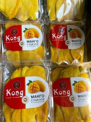 Манго сушеное KONG, 500г (новая упаковка)