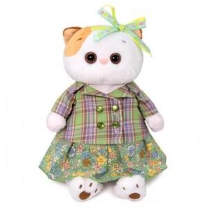 Жакет зеленый с юбкой (комплект одежды для Ли-Ли)  27см