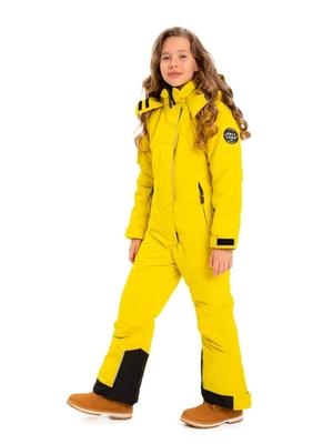 824-Д Комбинезон для девочки в горнолыжном стиле