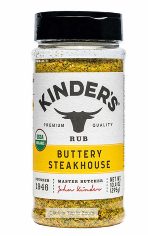 Kinder's Organic Buttery Steakhouse 10.4 oz