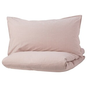 BERGPALM БЕРГПАЛМ Пододеяльник и наволочка, розовый/полоска150x200/50x70 см Обычная цена1 299 ₽ Цена действительна с 17.06.2021 по 14.07.2021 или пока товар есть в наличии 40423234